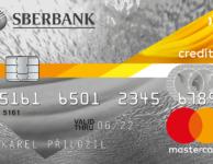 Kreditní karta FÉR od Sberbank
