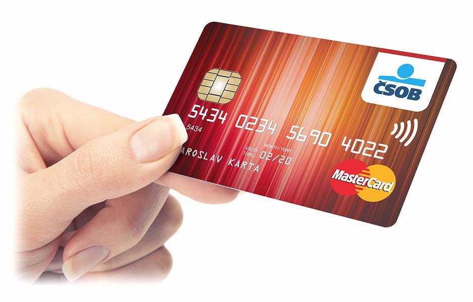 Kreditní karta ČSOB MasterCard Standart
